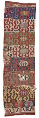 Anatolian Kilim fragment - 18th Centrury - 330 x 090 cm - sold