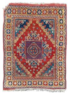 antique Ghirlandaio rug