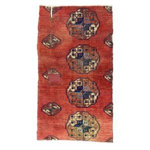 Turkmen Salor main carpet fragment