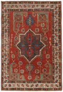 antique 17th century Aksaray rug turkish ottoman