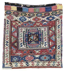 Antique Shahsavan Bagface