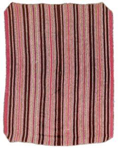 Antique Aymara poncho textile