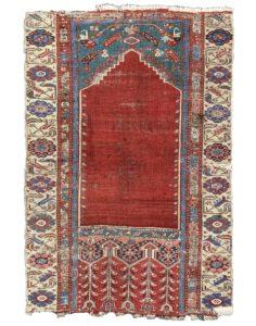 Ladik tulip prayer rug