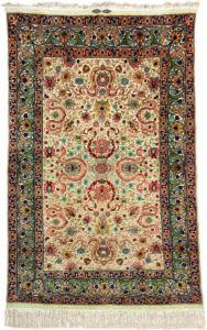 turkish hereke silk rug