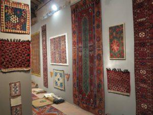 Sartirana textile show serkan sari teppiche Karlsruhe