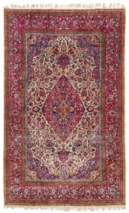 Kashan Silk rug ,Serkan Sari antike Teppiche Teppichankauf