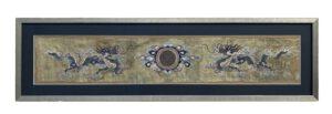 Chinese Silk Embroidery , serkan sari teppiche Karlsruhe