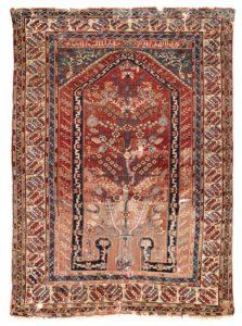 Kula prayer rug, Serkan Sari Karlsruhe Teppiche