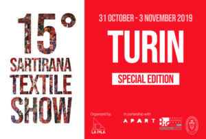 Sartirana textile show 2019 Turin serkan Sari Karlsruhe Teppiche antik