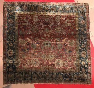 sartirana textile show 2018 Serkan Sari Karlsruhe Teppiche